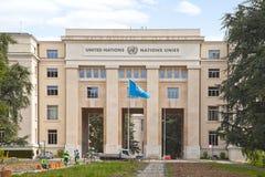 Geneva. Palace of Nations stock photography