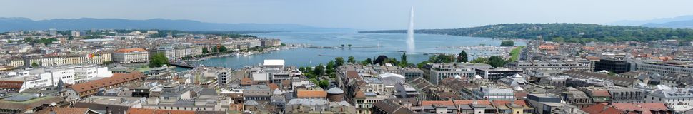 Geneva panorama Stock Images