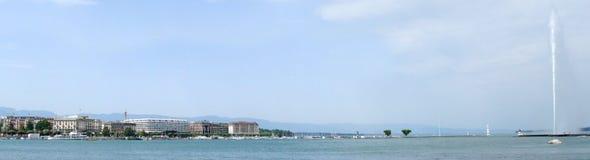 Geneva panorama Stock Photography