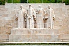 Geneva. Reformation Wall Royalty Free Stock Photos