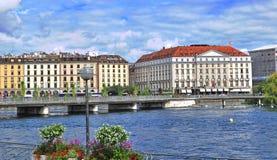 Geneva skyline, Switzerland Stock Photography