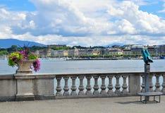 Geneva skyline, Switzerland Stock Photo