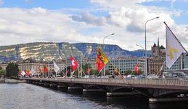 Geneva skyline, Switzerland Stock Images