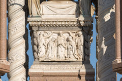 Geneva Switzerland The Brunswick Monument. The Brunswick Monument is a mausoleum built in 1879 in Geneva, Switzerland to commemorate the life of Charles II, Duke royalty free stock images