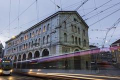 Geneva in Switzerland Stock Photo