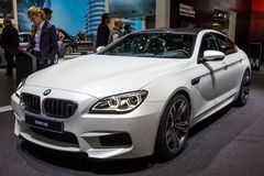 BMW M6 Gran Coupe car Stock Photography