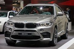 BMW X6 M SUV car Royalty Free Stock Photos