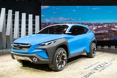 Geneva, Switzerland, march 9, 2019 - International Motor Show royalty free stock images