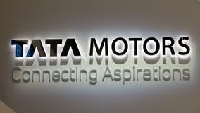 Tata Motors automotive manufacturing company Royalty Free Stock Photos
