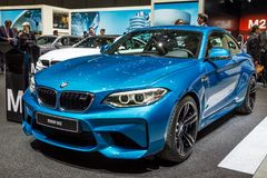 2017 BMW M2 Coupe car Royalty Free Stock Image