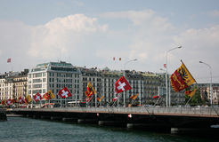 Geneva_Switzerland Stock Photography