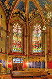 Geneva Switzerland St. Pierre Cathedral The Chapel of the Maccabees Royalty Free Stock Photos