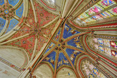 Geneva Switzerland St. Pierre Cathedral The Chapel of the Maccabees Stock Images
