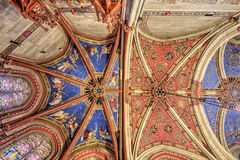 Geneva Switzerland St. Pierre Cathedral The Chapel of the Maccabees Stock Photography