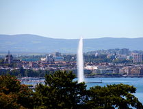 Geneva view Stock Photography