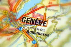 Geneve, Switzerland - Europe. Geneva or Geneve, is the second most populous city in Switzerland, Europe Stock Photography