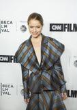 Genevieve Angelson Arrives für Premiere am 17. Tribeca-Film-Festival stockbilder