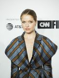 Genevieve Angelson Arrives für Premiere am 17. Tribeca-Film-Festival stockfotografie