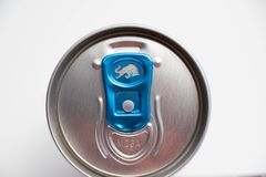 Genewa/Switzerland-16 07 18: Czerwony byka cukieru bezpłatnej energii napój Zdjęcia Stock
