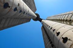 Genex Tower, Belgrade, Serbia stock photos