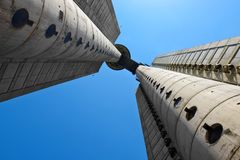 Genex-Turm, Belgrad, Serbien stockfotos
