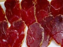 Genezen varkensvleeslendestuk stock fotografie