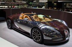 Genf 2012 - Bugatti Veyron 16.4 Stockbilder