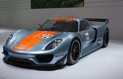 Genf-81. internationale Autoausstellung Lizenzfreie Stockfotos