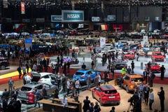 Genf-Autoausstellung 2018 stockbild