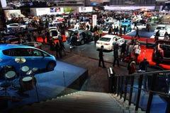 Genf-Autoausstellung 2009 - Überblick über Halle 4 Lizenzfreie Stockfotografie