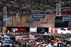 Genf-Autoausstellung 2011 Stockbild