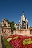 Genf die Schweiz das Brunswick-Monument Stockfotos