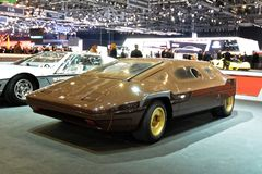 88. Genf-Internationale Automobilausstellung 2018 - Bertone Lancia Sibilo Stockbild
