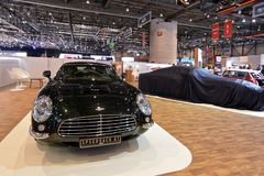 88. Genf-Internationale Automobilausstellung 2018 - David Brown Speedback GT Lizenzfreie Stockfotos