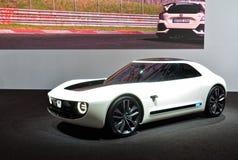 88. Genf-Internationale Automobilausstellung 2018 - Konzept Honda-Sport-EV stockfotografie