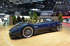 88. Genf-Internationale Automobilausstellung 2018 - Pagani Zonda HP Barchetta Lizenzfreies Stockfoto