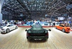 88. Genf-Internationale Automobilausstellung 2018 - Ruf-Stand Stockbilder