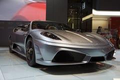 Genf Motorshow 2009 - Ferrari Scuderia 16M Lizenzfreie Stockfotos