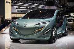 Genf Motorshow 2009 - Konzept-Auto Mazda-Kiyora Lizenzfreie Stockfotos