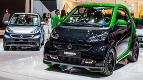 Genf Motorshow 2012 - intelligentes Auto Brabus Stockbilder