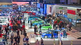Genf-Motorshow 2011 Stockbild
