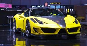 Genf-Motorshow 2011 Lizenzfreie Stockbilder