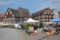 Gengenbach market Royalty Free Stock Photo
