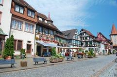 Gengenbach street Royalty Free Stock Image