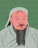 Genghis Great Khan Royalty Free Stock Image