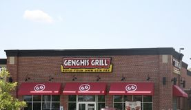 Genghis Grill Stir Fry Royalty Free Stock Images