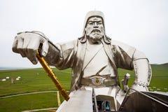 Genghis Khan Equestrian Statue foto de stock royalty free