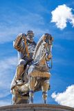 Genghis Khan equestrian statue 2008 royalty free stock image