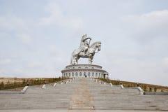 Genghis Khan Equestrian Statue - Mongólia imagens de stock royalty free