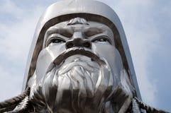 Genghis Khan Equestrian Statue - Mongoliet arkivbilder